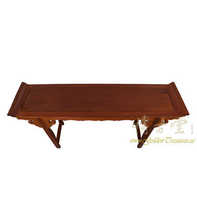 Chinese Vintage Carved Rosewood Altar Table 16LP88 6