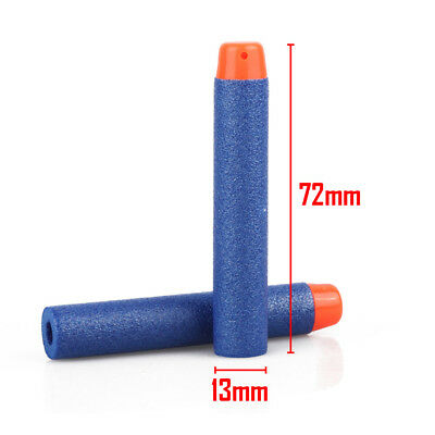 100Pcs Nerf Darts Refill Nerf Bullets Round Head Blasters For Nerf Gun N-Strike 4