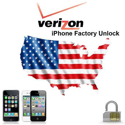 VERIZON PREMIUM FACTORY UNLOCK Service iPhone 6,6s,7,8,X,XS,XR,11,Pro, Pro Max 2