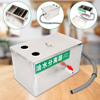 Grease Trap Interceptor Oil Water Separator Grease Traps Stainless Steel SALE 2