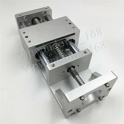 XYZ Axis Cross Slide Linear Guide Stage CNC Sliding Table SFU1605 Ballscrew