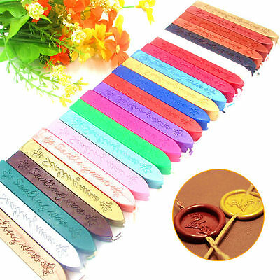 1/5X Traditional Wax Sealing Stick for Letter Stamp Seal Melting Candle Envelope 3