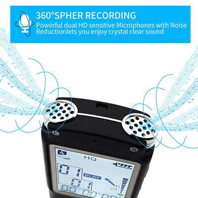 32G Voice Activated Mini Spy Digital Sound Audio Recorder Dictaphone MP3 Player 6