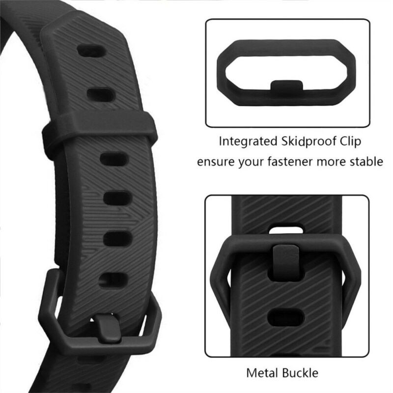 Silicone Replacement Wristband Watch Band Strap For Fitbit Alta/ Fitbit Alta HR 6