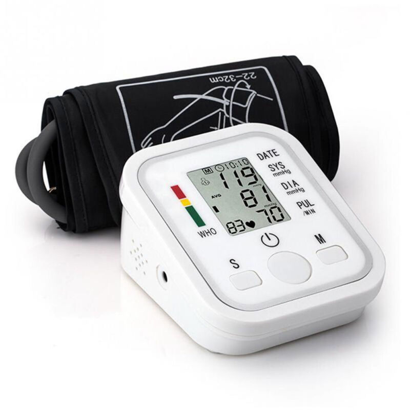 Tensiómetro Digital Brazo Presión Detección Pulsometro Memoria Inteligente Nuevo