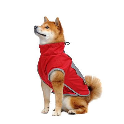 Dog Winter Coat Waterproof Pet Reflective Fleece Clothes Jacket French Bulldog 9