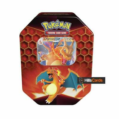 Pokemon Hidden Fates Charizard GX Collectors Tin |Inc Booster Packs & Promo Card 3