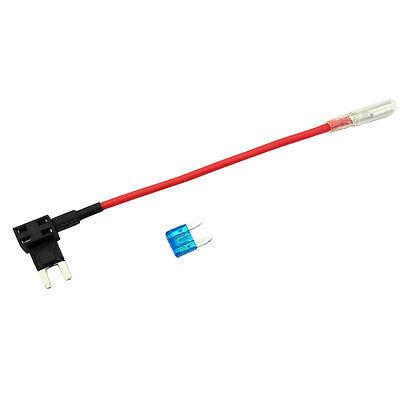 10 X 12/24V ATM APM Add A Circuit Fuse Tap Piggy Back Mini Blade Holder HY 8