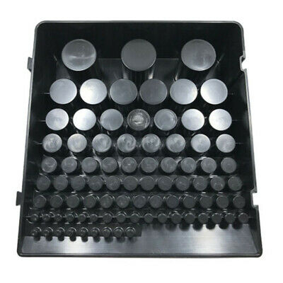 85 Hole Storage Holder Drill Bit Collet Tool Box Rack Organizer Stand Container