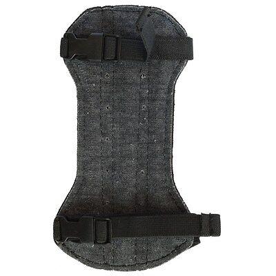 NEU Bearpaw Kinder Armschutz Deluxe Unterarmschutz Leder Schwarz und Braun
