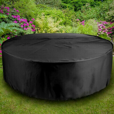 Extra Large Garden Rattan Outdoor Furniture Cover Patio Table Protection UKSTOCK 5