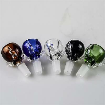 14mm Dragon Claw Glass  Bowl Slide Bowl with Free Screens Fast 5 Color Available 3