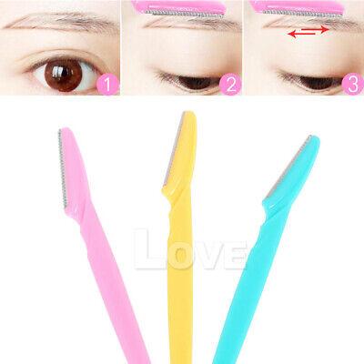 Facial Eyebrow Razor Trimmer Shaper Shaver Blade Knife Hair Remover inkle 6