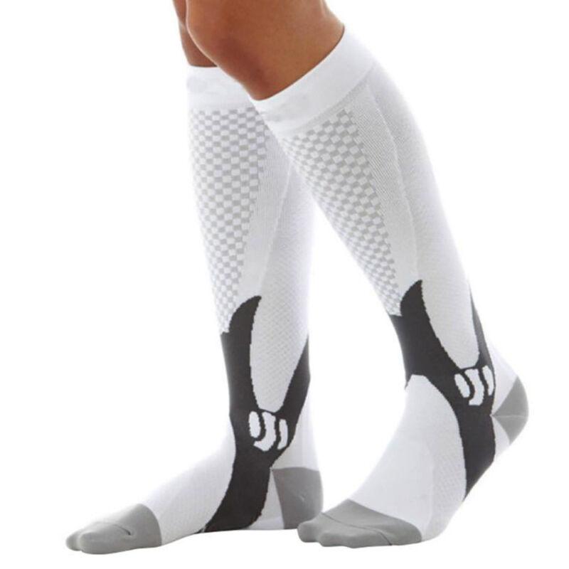 15-30mmHg Medical Compression Socks Support Stockings Travel Flight Socks AU 5