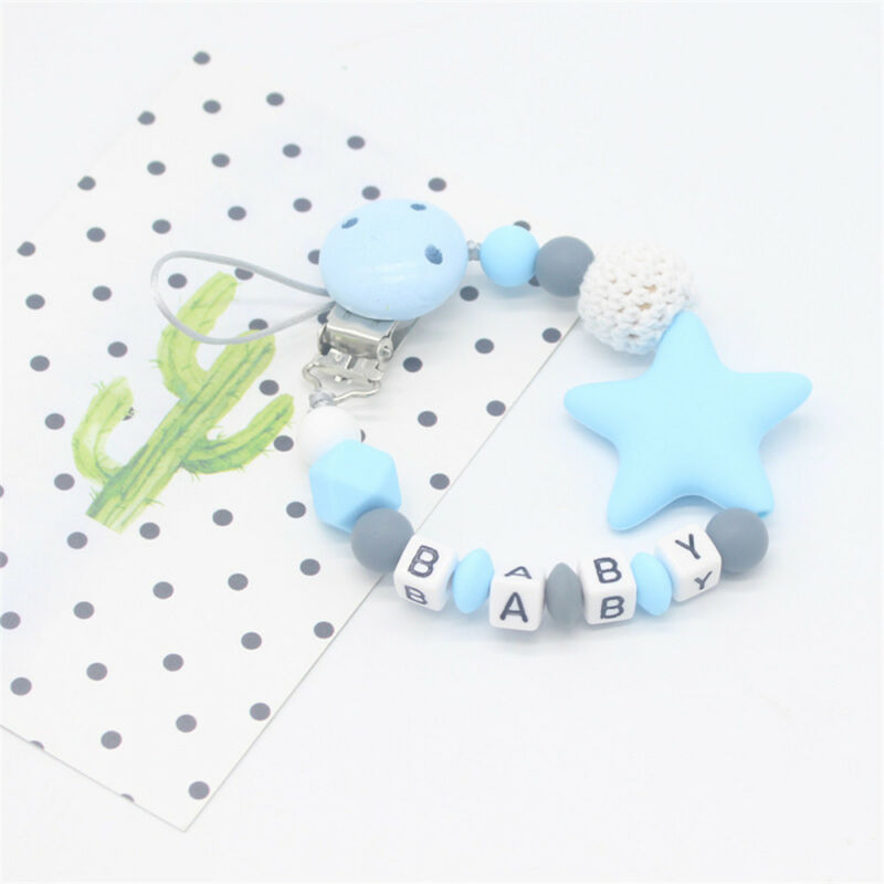 Baby Silicone Pacifier Chain Teething Soother Chew Toy Dummy Clips New Hot 10