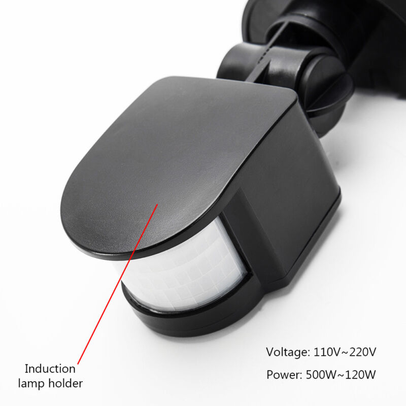 Détecteur de mouvement PIR commutateur pour éclairage sécurité 180° extérieur SV