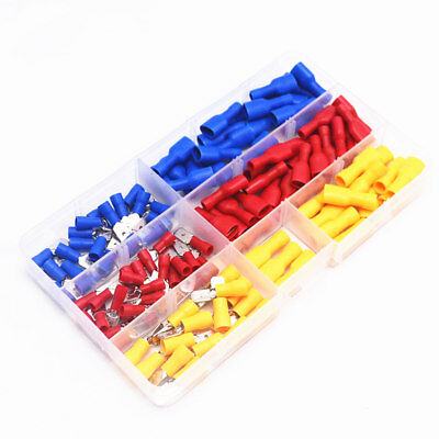 130pcs/lot Female Male Electrical & Wiring Connector Insulated Crimp Terminal 2