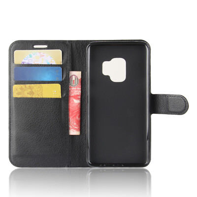 Wallet Leather Cardholder Flip Case Cover For Samsung Galaxy S8 S9 S10 S10E Plus 2