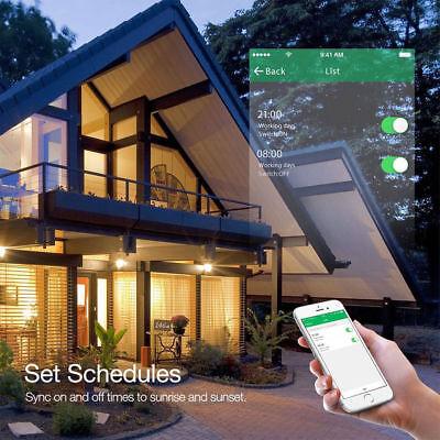 WIFI Smart Wall Light Touch Panel Switch App Timing Socket Alexa Google Home AU 2