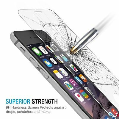 For iPhone 7 / For iPhone 7 Plus Tempered GLASS Screen Protector Bubble Free 6