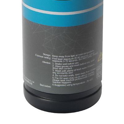 ANYCUBIC 1L Grey(gris) Color UV Resin para Impresora 3D SLA Photon 3D Printer EU 4
