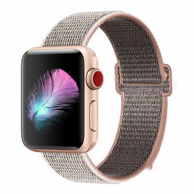 Cinturino per Apple Watch 42MM 44MM Morbido Nylon Sport Loop 6