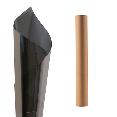 Black Auto Window Tint Solar Films Car Explosion-proof Film Membrane 0.5*3m US