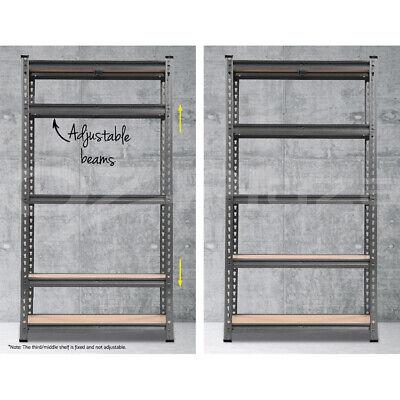 Giantz 0.7M Warehouse Racking Metal Steel Shelving Garage Storage Shelves Racks 6
