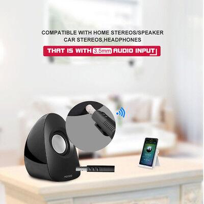 3.5mm Jack Wireless Bluetooth Receiver Audio Adapter Bose Headphone Car Kit AUX