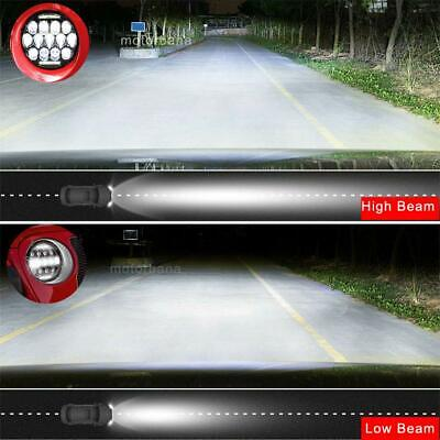 2X 7 Inch Round 280W Total LED Headlights Hi/Lo for 97-17 JEEP JK TJ LJ Wrangler 2