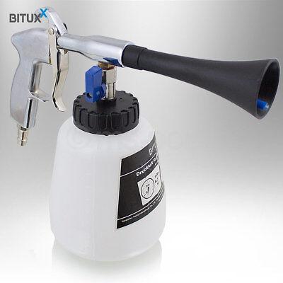 Bituxx Tornado Reinigungspistole Druckluft Wasser Kfz Auto PKW Waschpistole 1/4 3