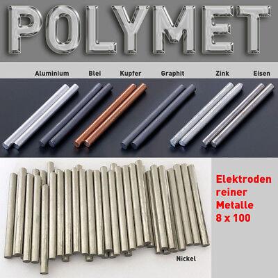 Zink-Anode / Elektrode / Blech 15 x 10 cm für Zinkelektrolyt Galvanik 150 100 mm 3
