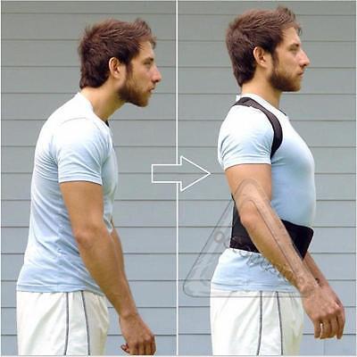 Postura Corrector Apoyo Magnético Espalda Hombro Abrazadera Cinturón 2