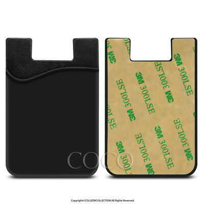 3M Silicone Smart Phone Wallet Card Stick On Cash Credit Opal Card Holder 7
