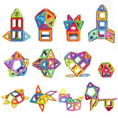 Magnetic Toy Building Blocks Set 3D Tiles DIY Toy Magic Educational Gift for Kid 3