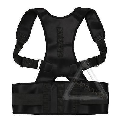 Postura Corrector Apoyo Magnético Espalda Hombro Abrazadera Cinturón 6
