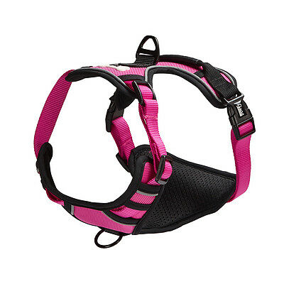 Bunty Soft Padded Comfortable Fabric Dog Puppy Pet Adjustable Outdoor Harness 7