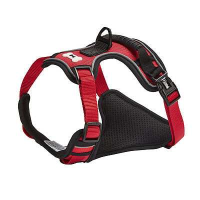 Bunty Soft Padded Comfortable Fabric Dog Puppy Pet Adjustable Outdoor Harness 10