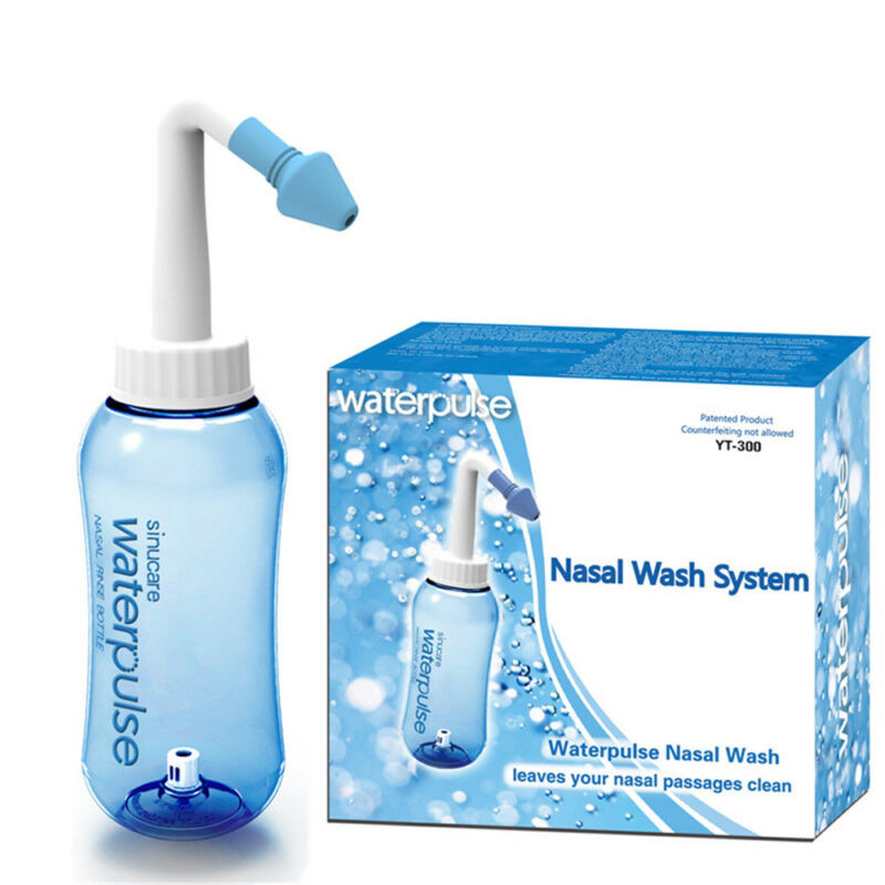 Nettoyant Allergies Soulagement Nez Nasal Rinse Wash Sinus Waterpulse Neti Pot