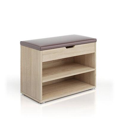 schuhbank schuhschrank schuhablage sitzbank klappdeckel 6. Black Bedroom Furniture Sets. Home Design Ideas