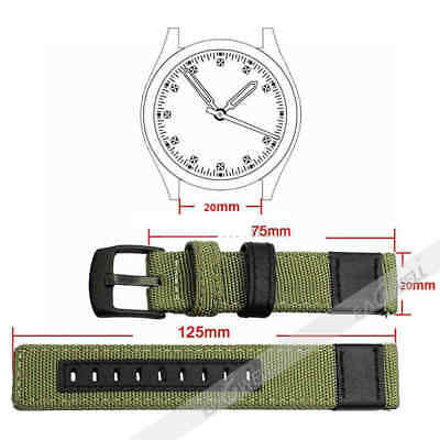 For Samsung Galaxy Watch Gear S3 SPORT 42 / 46mm Leather Nylon Watch Band Strap 11