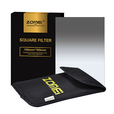 ZOMEI 150*100mm Neutral Density Square filter kit+Holder+95mm Ring for Cokin Z