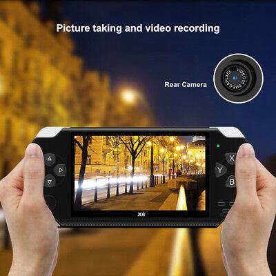 "X6 PSP 8G 4.3"" Handheld Spielkonsole funny Spiele +Kamera tragbar player Hohe 8"