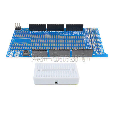 Arduino UNO R3 MEGA2560 Prototype Shield ProtoShield V3 with min breadboard 170 4