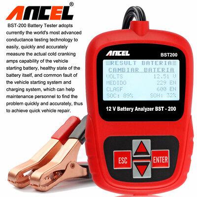 Digital Battery Analyzer 12V 100 -1100CCA Car Battery Load Tester ANCEL BST200 6