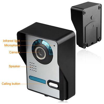 """Video Gegensprechanlage Türsprechanlage Kamera 2x 7""""Monitor Klingel Sprechanlage 3"""