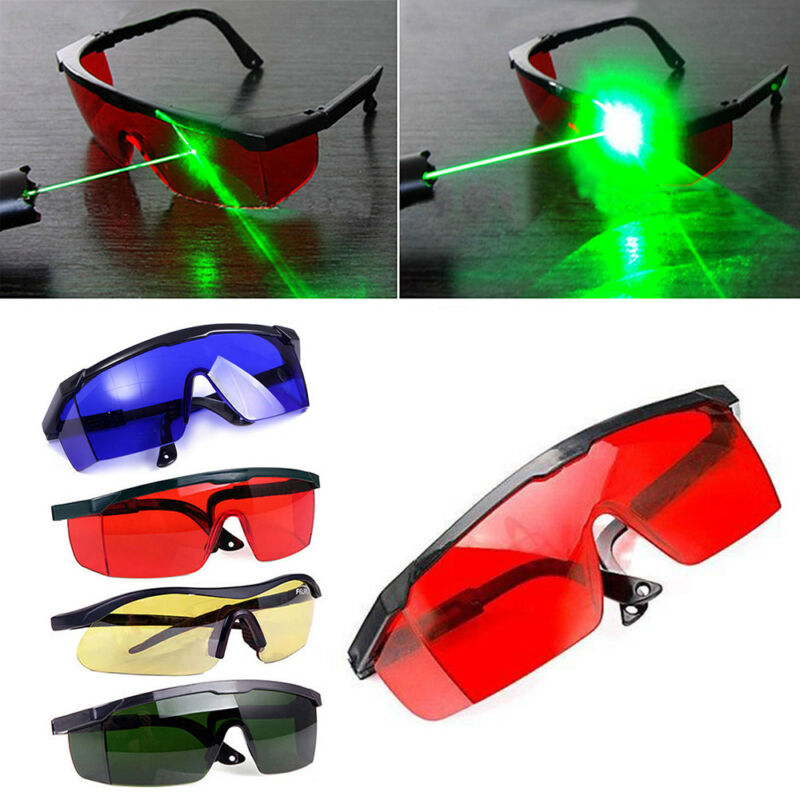 Multicolor Laser Eye Glasses Protection Safety Goggles Large Polycarbonate Lens 4