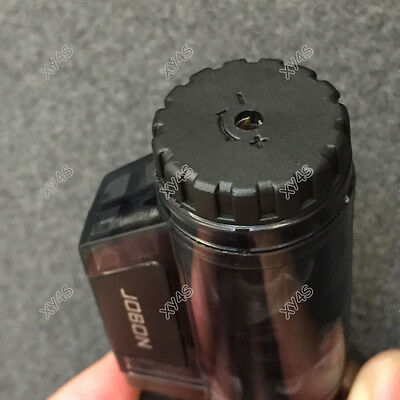 JOBON High-Capacity Triple Jet  Torch Gas Lighter for Pipe Cigar Cigarette Black 4