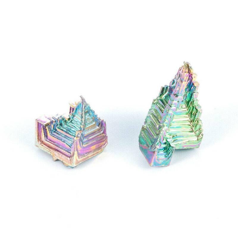 Top Natural Quartz Crystal Rainbow Titanium Cluster VUG Mineral Specimen Healing 12
