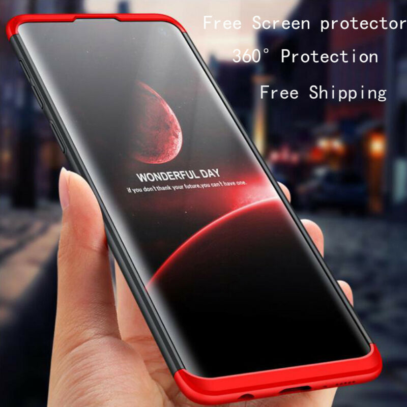 Shockproof Heavy Duty Slim Bumper Case Cover For Samsung Galaxy Note 9 S8 S10 s7 10